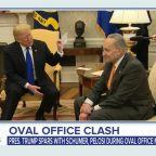 President Trump, Democratic leaders clash over border security, spending bill