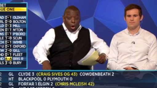 WATCH: Garth Crooks' hilarious reaction as Mesut Ozil beauty takes Arsenal to Watford win