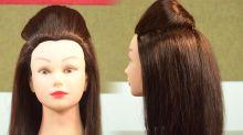 Navratri Hairstyle Tutorial
