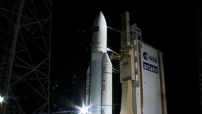 Raw: Rocket Launches Into Space With Cargo Ship