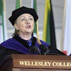 Hillary Clinton Roasts 'Cruelty' of Donald Trump, Praises Chardonnay in Fiery Wellesley Speech