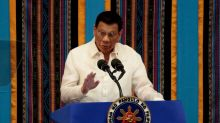 Philippines' Duterte issues gag order on cabinet over South China Sea spat