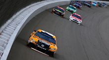 Quick takeaways from Michigan: Kenseth's caution helped Larson's win