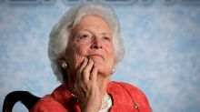 Public figures react to the death of Barbara Bush