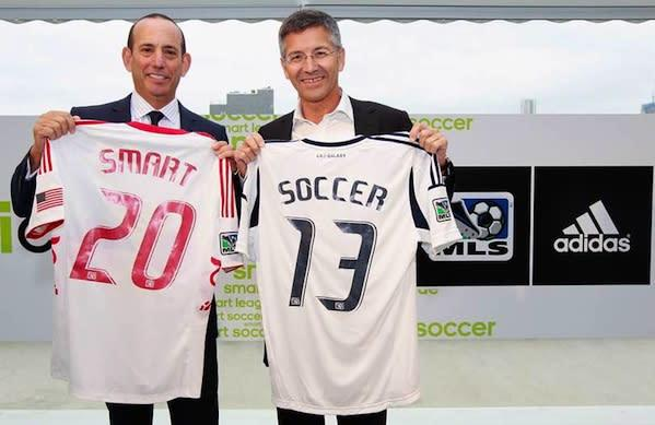 Adidas miCoach Elite System set to equip all MLS teams in 2013, creates world's first 'smart league'