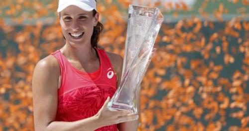 Tennis - WTA - Miami - Johanna Konta : «Je ne réalise pas»