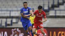 El 1x1 de los jugadores de Toluca  en su derrota contra Cruz Azul