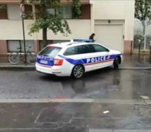Police Respond in Force to Scene of Paris Stabbing Incident