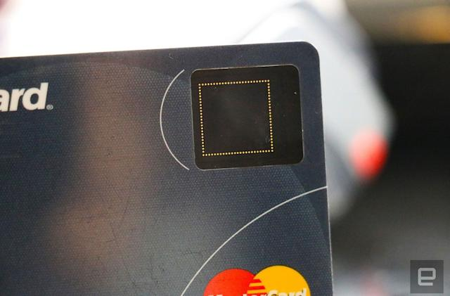 Samsung and Mastercard are working on a fingerprint payment card