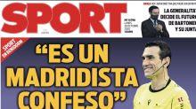 El diario Sport tiene que pedir perdón por su polémico reportaje contra el árbitro Martínez Munuera