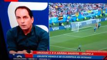 Edmundo promete raspar a cabeça ao vivo se o Brasil conquistar o hexa