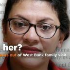 Rep. Rashida Tlaib backs out of West Bank trip to visit family, accuses Israel of 'silencing' her