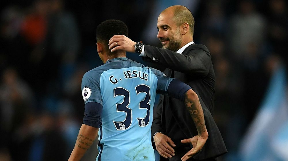 Manchester City boss Guardiola rues absence of 'special' Jesus