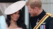 Prince Harry told Meghan Markle when to curtsy at Trooping the Color