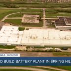 GM, LG Energy announce plans to build battery plant in Spring Hill