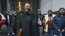 Man cleared of murder walks free after 28 years in prison