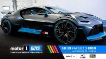 El Bugatti Divo se deja ver en los Motor1 Days 2019