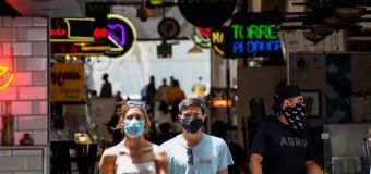 Frontline workers stressed over being mask police