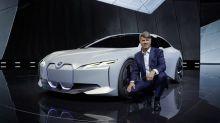 BMW's Sleek Electric Sedan Will Challenge Tesla -- in 2021