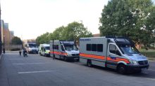 Families evacuated as armed police in stand-off with man who has 'hazardous items' in Northolt