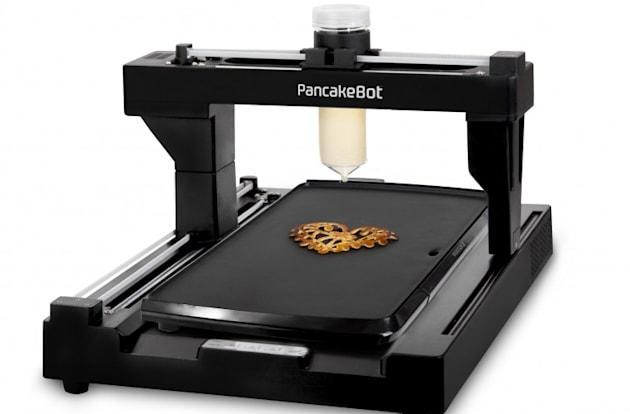 PancakeBot prints flapjacks in any shape you can trace