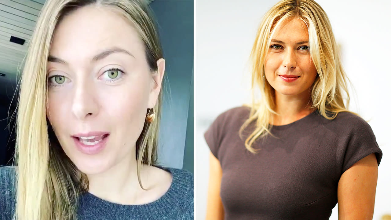 Maria Sharapova inundated with messages after sharing phone number online