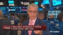 Markets open higher as GE drags industrials lower