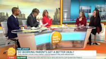 Good Morning Britain working mothers debate thoroughly divides viewers