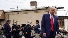 La visita de Trump a Kenosha fue más un acto electoralista que un esfuerzo por lograr distensión y justicia