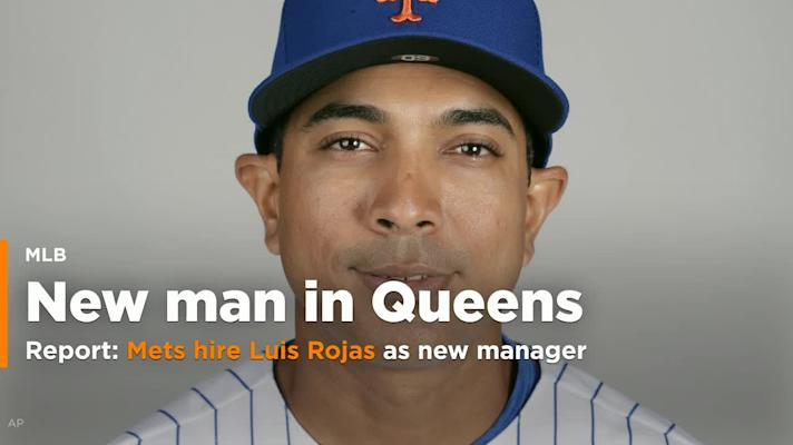 Mets reportedly hire Luis Rojas as new manager