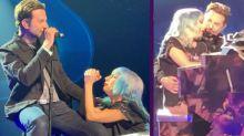 """Bradley Cooper sorprende en un concierto de Lady Gaga y nos enamoran cantando """"Shallow"""""""