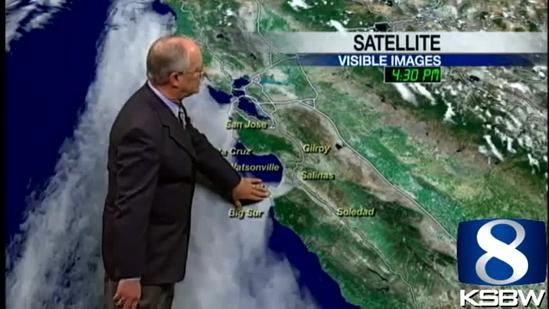 Watch Your KSBW Weather Forecast 05.10.13