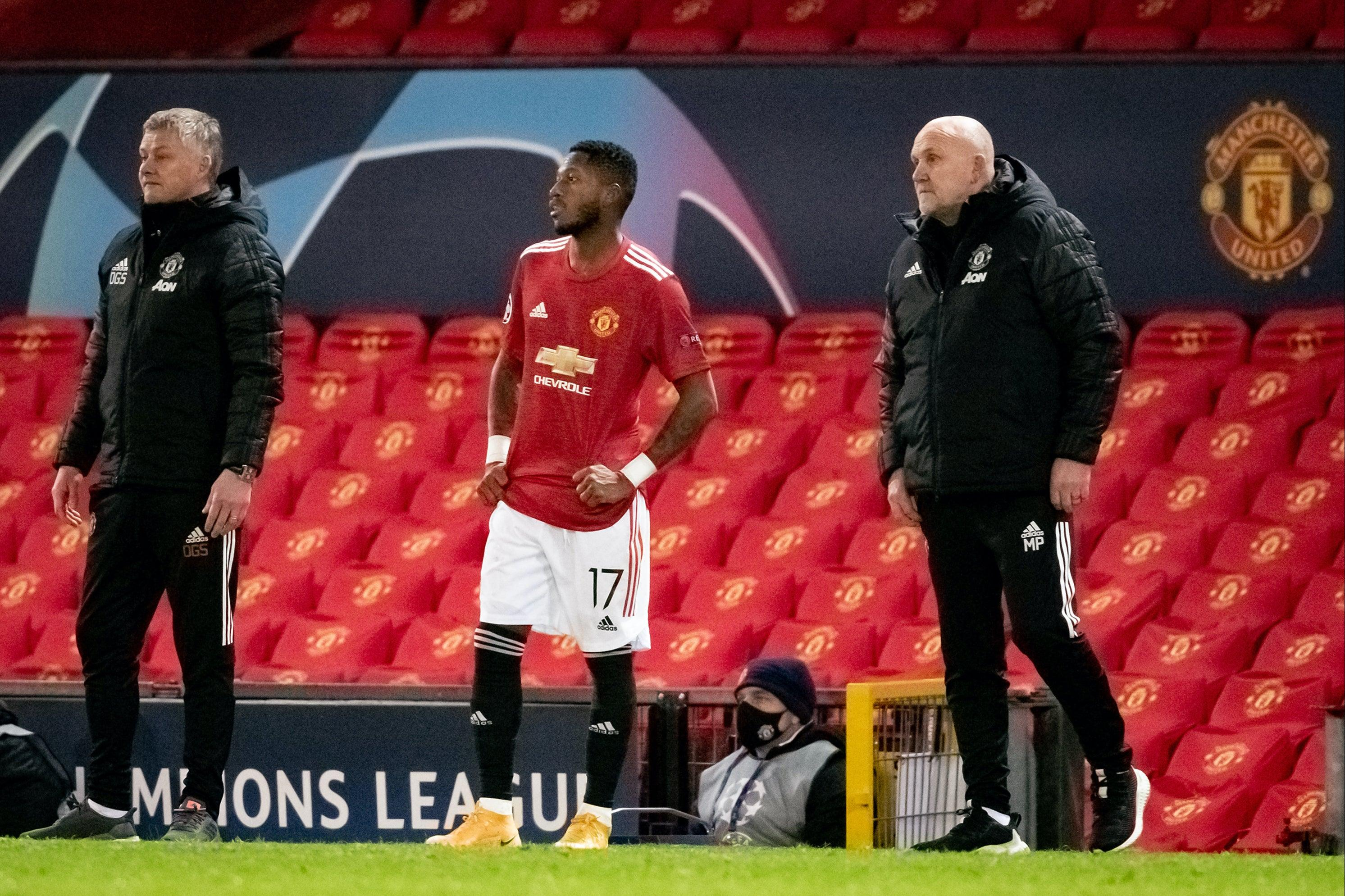 Ole Gunnar Solskjaer defends decision not to substitute Fred before red card in PSG defeat