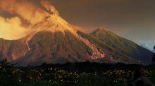 El volcán de Fuego de Guatemala tiene entre 7 y 10 explosiones por hora