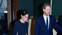 Meghan Markle Stuns in Cape Dress While Attending Queen Elizabeth's Birthday Celebrations With Prince Harry