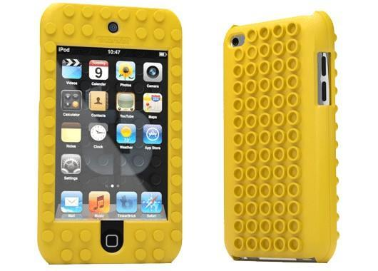 Snap this 'TinkerBrick Lego Compatible Case' around your iPod Touch
