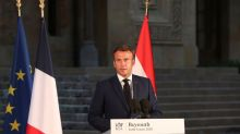 France's Macron to host donor conference for blast-stricken Lebanon