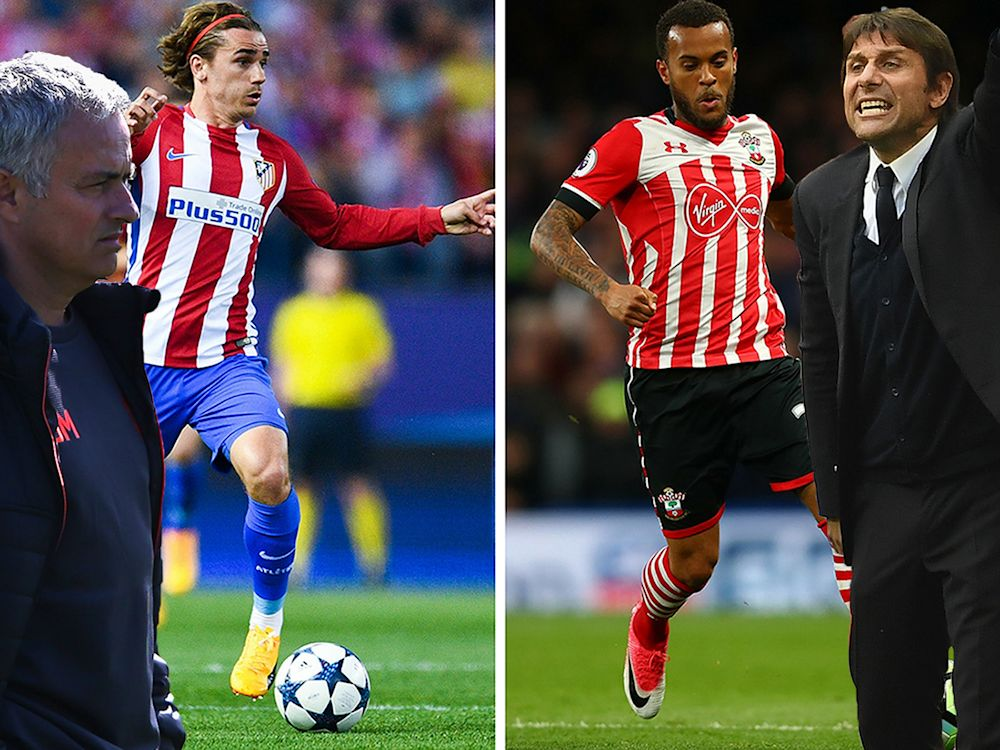 Mourinho wants Griezmann and Conte wants Bertrand - apparently