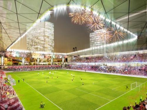 Detroit MLS stadium plan