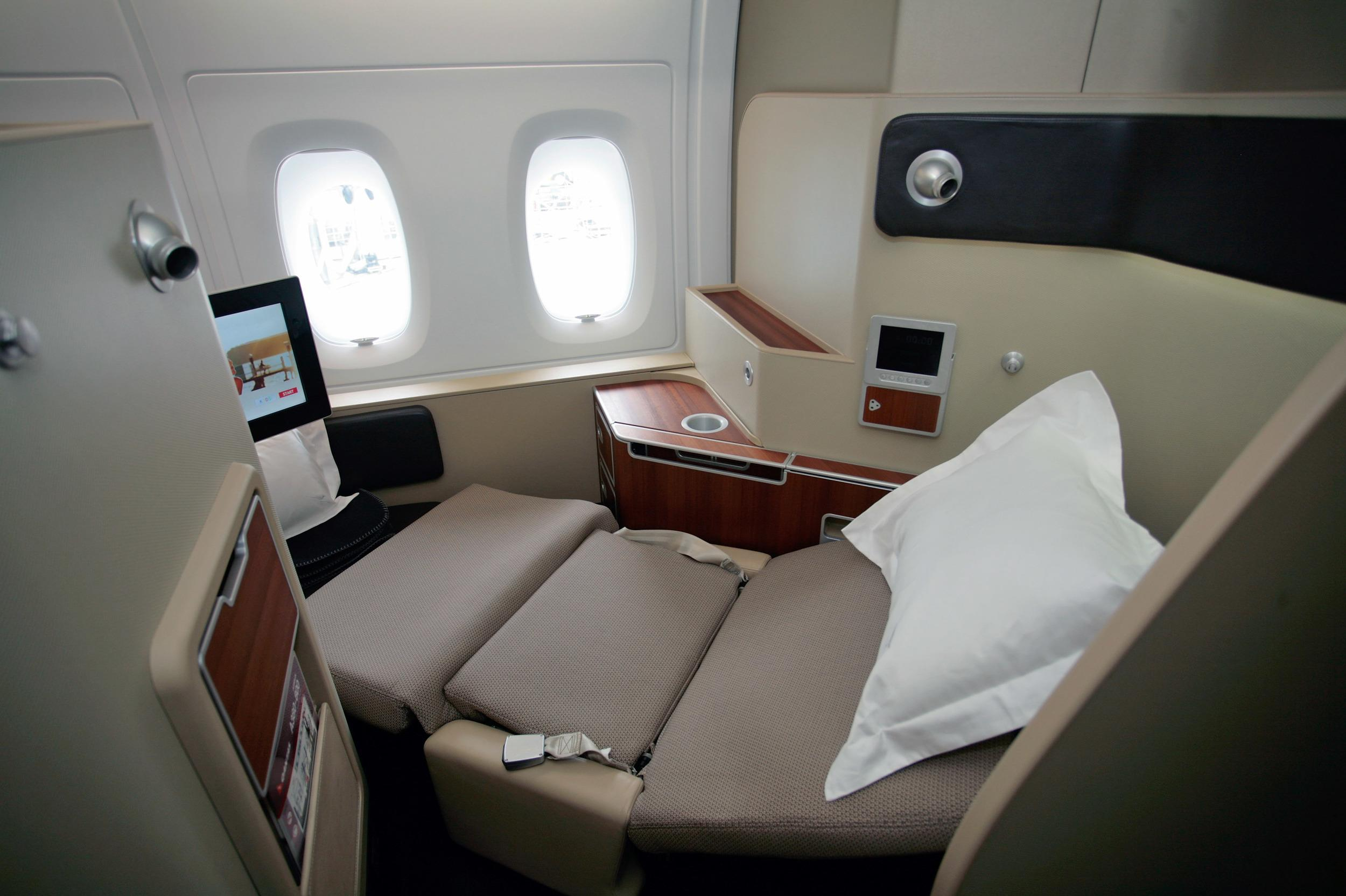 """A 15-hour Qantas flight from Los Angeles to Melbourne was held up in 2012 when <a href=""""https://www.aol.co.uk/travel/2012/08/11/qantas-flight-delayed-passengers-refuse-to-fly-without-pyjamas/"""" target=""""_blank"""">two first-class passengers threw a tantrum and refused to fly</a> after they were told there no XL-sized pyjamas. The Australians complained about not receiving the complimentary sleepwear in their size and were offered business class PJs but were still not happy. They decided not to fly and their baggage was offloaded."""