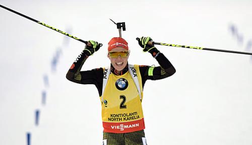 Biathlon: SDJ? Dahlmeier bleibt bescheiden
