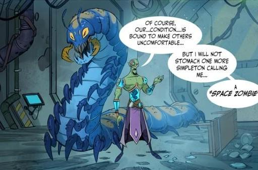 WildStar webcomic endears us to the plight of the Mordesh