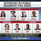 Capitol Hill prepares for second week of high-stakes impeachment hearings