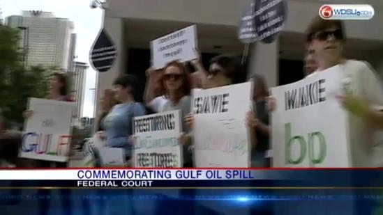 Protest aims to hold BP accountable