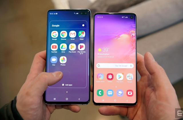 Samsung's Galaxy S10 and S10+ arrive on March 8th starting at $900