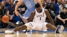 Nike Slips After Duke Basketball Star Zion Williamson's Shoe Rips Apart