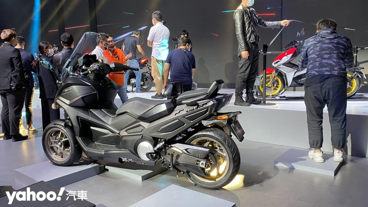 意想不到的移動面貌!Kymco RevoNEX、R9電動機車台灣首現,CV3預約2021年量產販售!