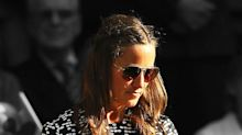 Pippa Middleton Wows in a Chic Carolina Herrera Ensemble at Wimbledon
