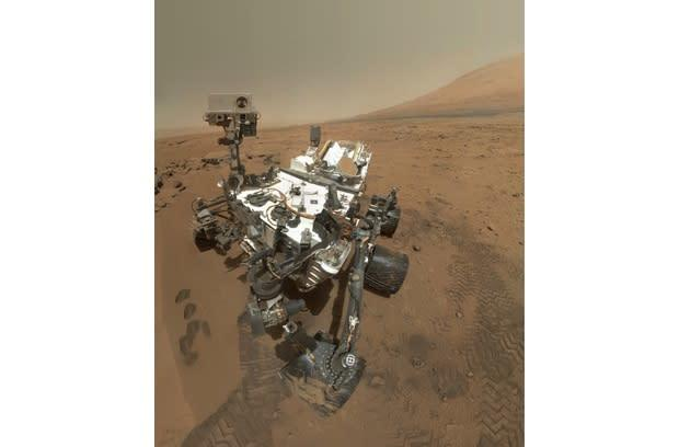 Visualized: Curiosity rover's self-portrait
