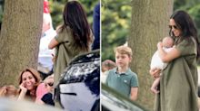 'George, Charlotte and Louis didn't meet cousin Archie until he was two months old'
